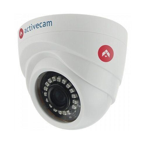 ActiveCam AC-TA461IR2 AC-TA461IR2 ActiveCam AC-TA461IR2 - сферическая 720p видеокамера, поддерживает все современные стандарты (HD-TVI, AHD и HD-CVI), позволяющие передавать видеосигнал по коаксиальному кабелю на расстояние 500 м и более. Также прибор имеет поддержку старого аналогового стандарта CVBS (PAL 960H) 700 ТВЛ. Встроенная ИК-подсветка обеспечивает видимость сцены в условиях низкой освещенности и полной темноте, функция 2D DNR помогает эффективно бороться с шумами в кадре. ActiveCam…
