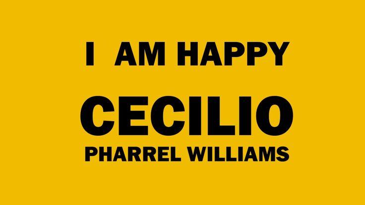 WE ARE HAPPY #CECILIO #BISCEGLIE #PHARRELWILLIAMS Anche Cecilio si diverte e si racconta! Video unico nel suo genere tutto realizzato in stop motion