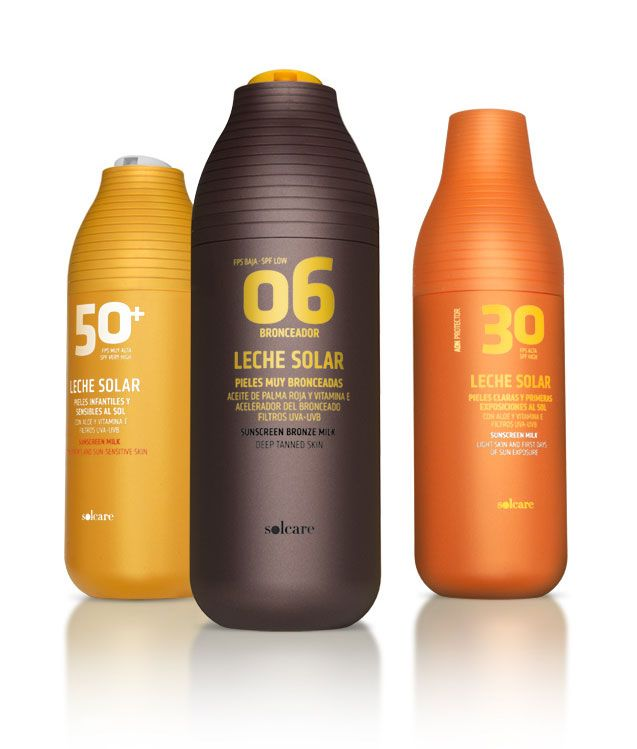 Clear, bold colors differentiate sun-care products