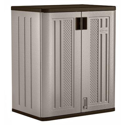 Suncast 91 H x 76 W x 51 D cm Storage Cabinet