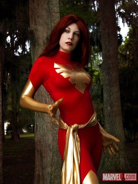 ana aesthetic as dark phoenix jean grey marvel cosplay - Halloween Costumes In Phoenix