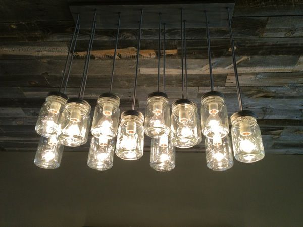 This is such a pretty/ DIY light fixture for the indoor dining space!