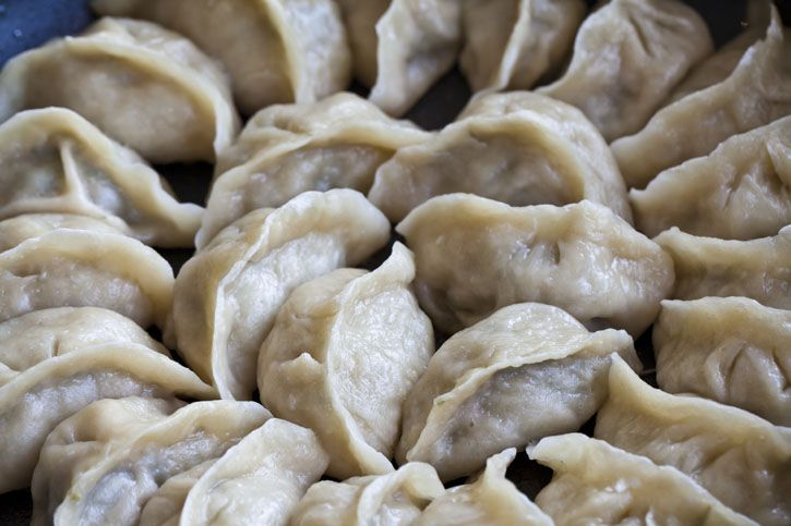 Authentic Chinese Dumplings (Jiaozi)
