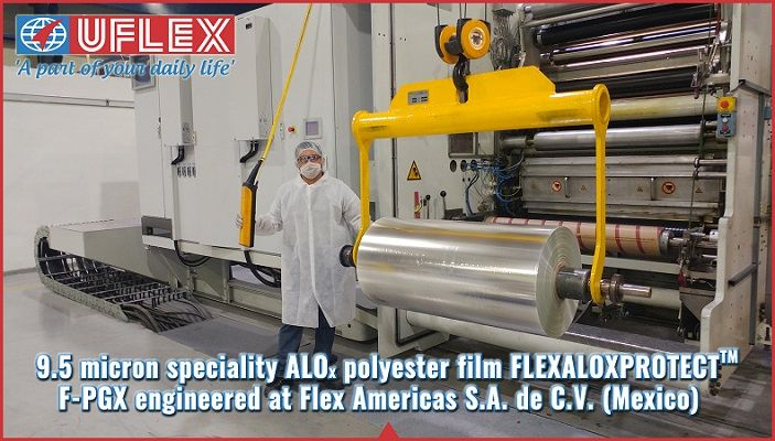 Uflex Engineersthinnest PET ALOxspeciality Film #UFLEXLimited
