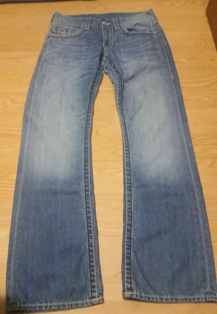 40504e73e Men s True Religion Light Blue Denim Jeans Boot Cut Size 31  fashion   clothing  shoes  accessories  womensclothing  jeans (ebay link)