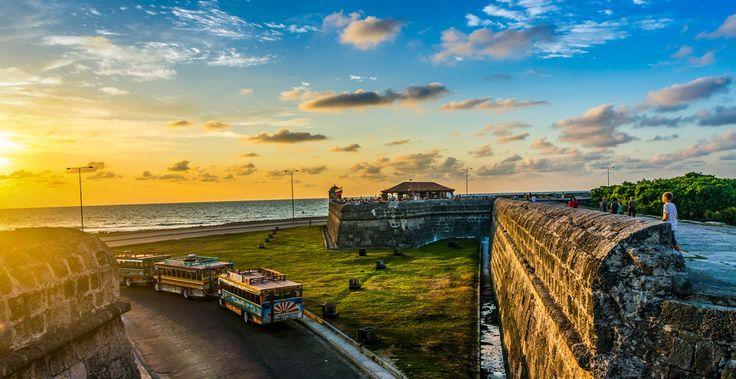 Por todas las espectaculares vistas que nos regala Cartagena:
