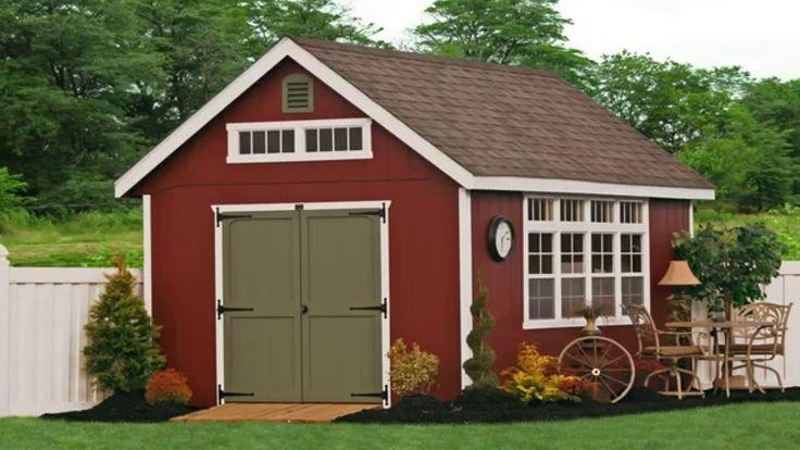Favorite Garden Cottages & Sheds