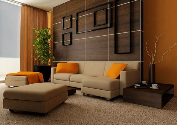 Earth tones living room google search contemporary for Earthy apartment decor