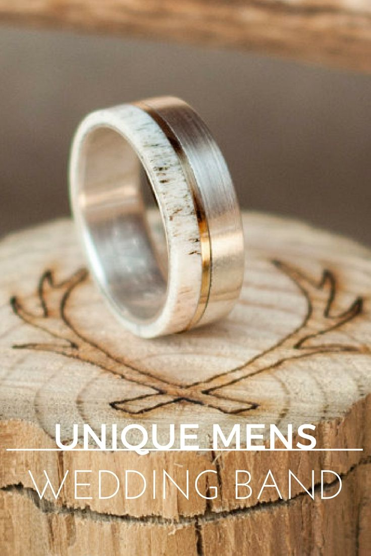 Huge Guide to Unique Mens Wedding Bands 50 Styles  ANILLOS