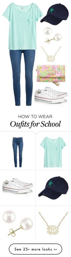 """""""Getting ready for school"""" by vineyard-vines-love on Polyvore"""