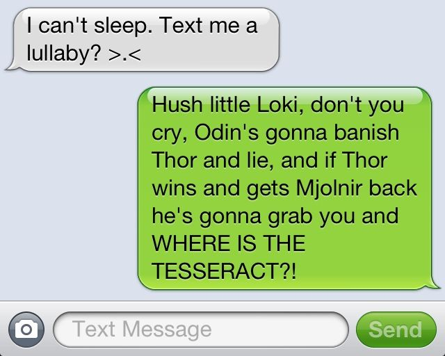 Pin on Avengers |Funny Thor And Loki Text