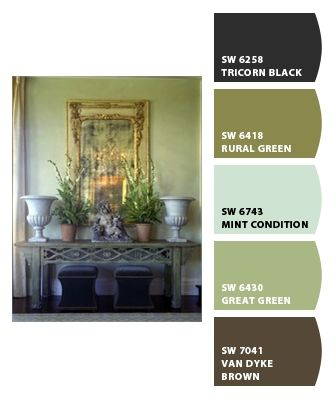 Kitchen; Paint colors from Chip It! by Sherwin-Williams
