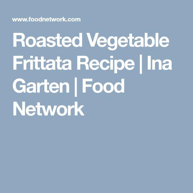 Roasted Vegetable Frittata Recipe | Ina Garten | Food Network