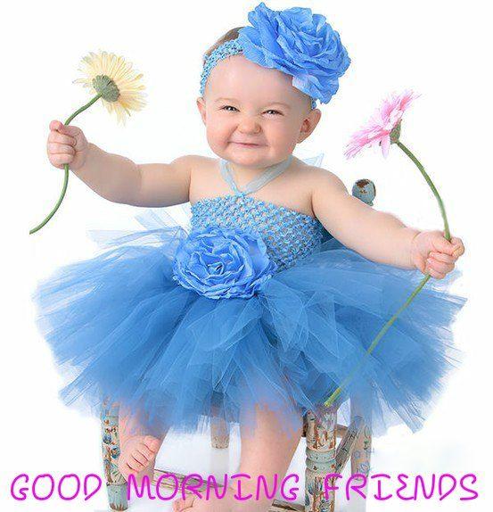 Good Morning Baby Girl Hd Images Archidev