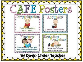FREE CAFE Posters with polka dot background. ...Follow for free 'too-neat-not-to-keep' teaching tools & other fun stuff :)