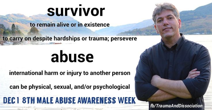 10 Myths about Male Sexual Assault and Rape for Male Abuse Awareness Week
