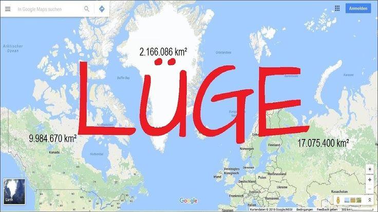 Welche Größe haben die Kontinente?
