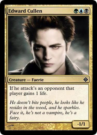 Edward Cullen Looks Like A Foot 101