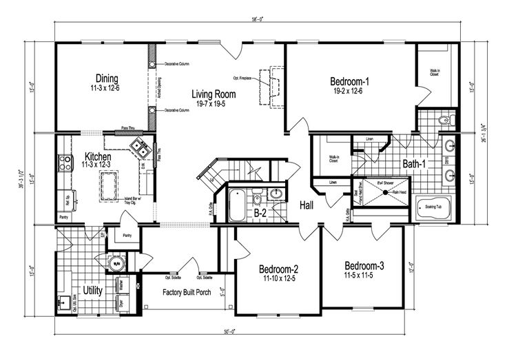Nationwide Modular Homes Floor Plans: 15 Best Floors Plans (house) Images On Pinterest