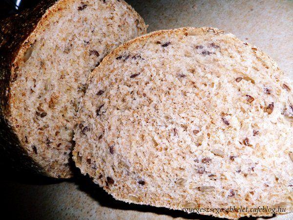 Már többször írtam, hogy amióta ráéreztem a kenyér sütés ízére ritkán fanyalodunk rá a bolti kenyérre. A sarki tojásosnál találtam hihetetlen jó...