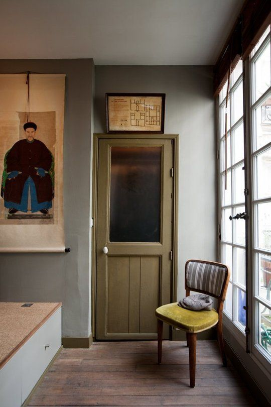 those colors | A Tiny & Pleasant Paris Apartment — Professional Project