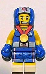 Lego Brawny Boxer - Team GB Minifig Entry