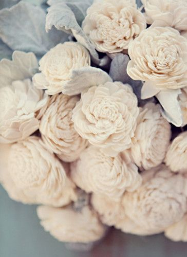 #candigardenpartyWhite Flower, Wood Flower, White Rose, Wedding Bouquets, Colours Schemes, Wedding Flower, English Rose, Cream, Dusty Miller