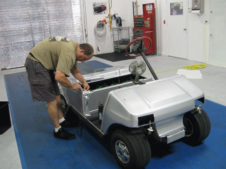 Sand Properly Painting A Golf Cart