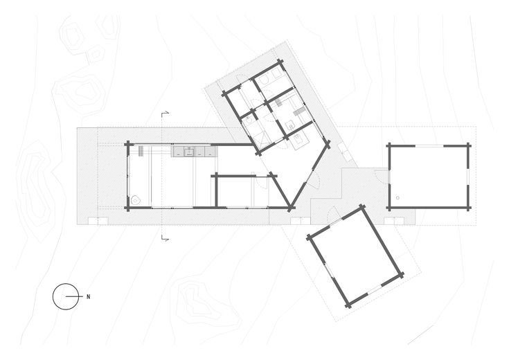 HYTTE FEMUNDEN -   Aslak Haanshuus Arkitekter AS