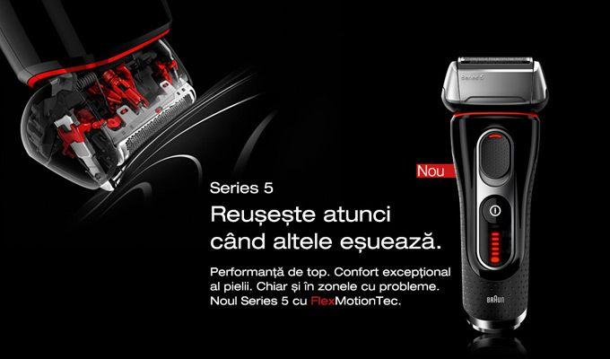 Puternice, performante și cu un design atrăgător, aparatele de ras electrice Braun Series 5 reușesc să ofere un bărbierit precis și confortabil fără a costa o avere...