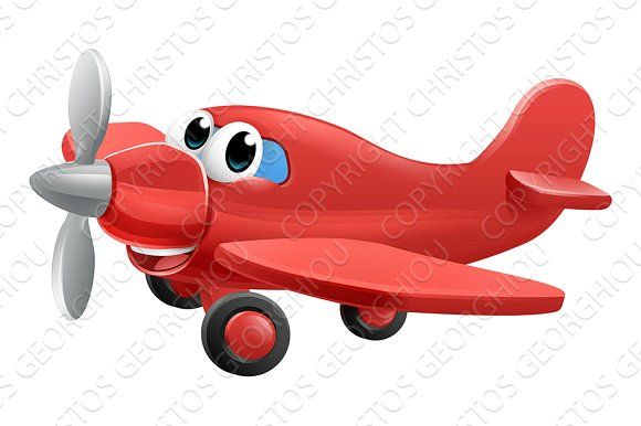 Airplane Cartoon Character Cartoon Characters Cartoon Character