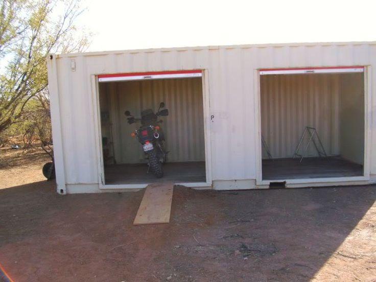 Shipping Container Garage Garage Conteneur