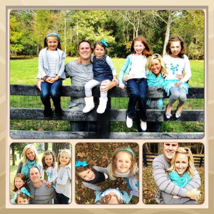 Family picture layout