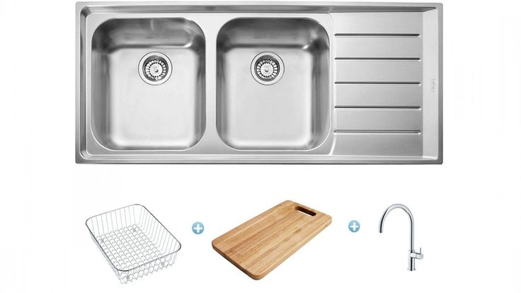Franke Neptune Sink and Tap Package - Right Hand Drainer - Sinks ...