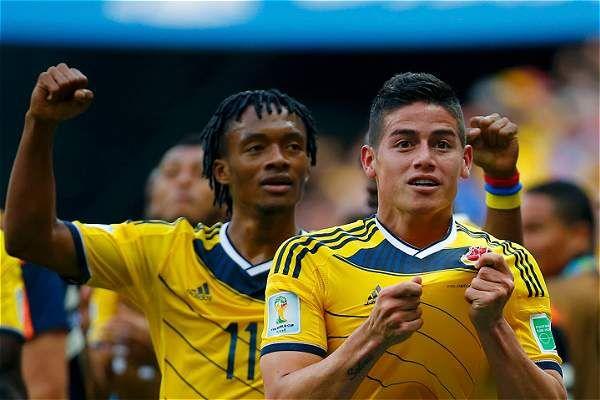 Mundial 2014: Colombia celebra su regreso a octavos de un Mundial, tras 24 años| Mundial Brasil 2014