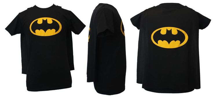 Batman Fancy Dress T-Shirt with Detachable Super Hero Cape & FREE Eye Mask - The Dragons Den Fancy Dress