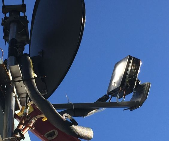"After changing TV providers, I found myself with this extra wide Satellite dish. I thought ""Boy that would make a great reflector for a solar oven."" So I sprayed some adhesive on it and grabbed a Mylar ""Space Blanket"" out of my ""Go bag"" and covered the face of the dish wit it. Then pointed it at the sun, and put my hand just about where the LNB would have been. Ouch! I will not try that again!"