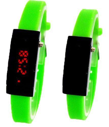 Ultra Schmale Damen Sommer LED Uhr ,,Neon Grün,, Ohne Batterien!! - http://kameras-kaufen.de/exc-2/ultra-schmale-damen-sommer-led-uhr-neon-gruen-ohne