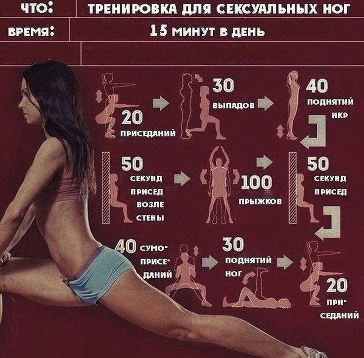 Упражнение Приседание Для Похудения. 30-ти дневный комплекс приседаний для похудения и укрепления мышц