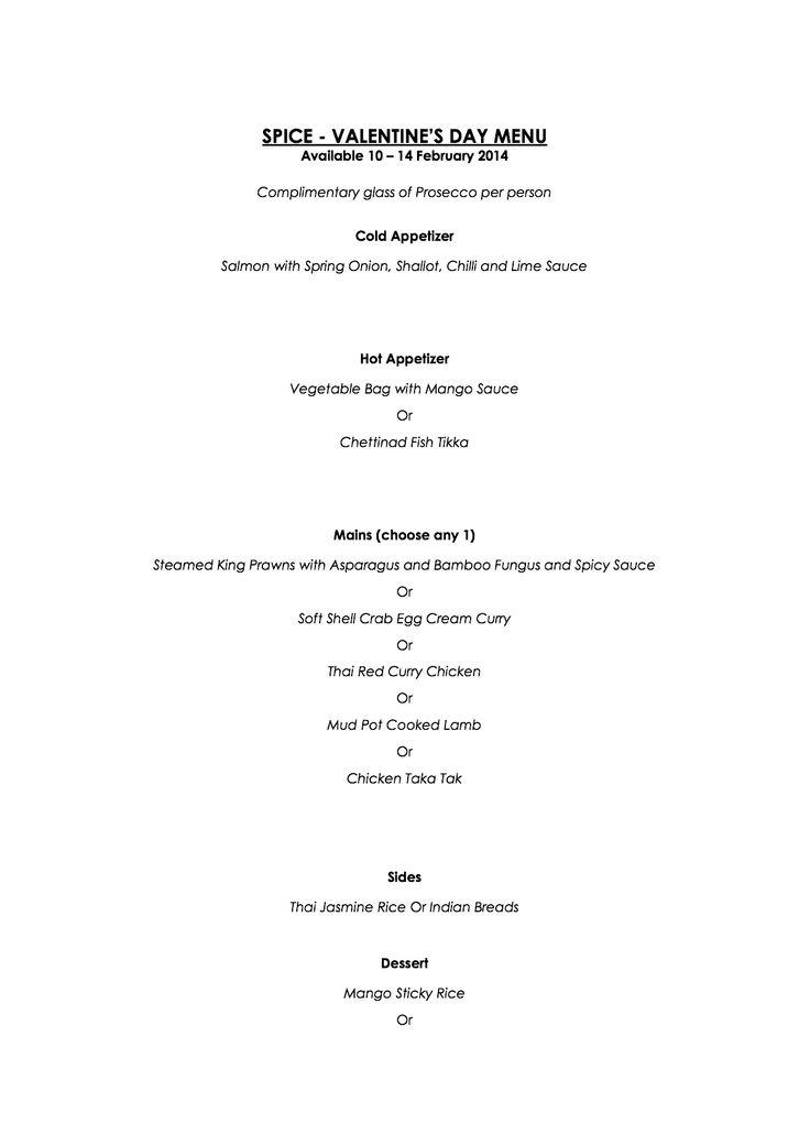 20 best Valentineu0027s Day Menus 2014 Hong Kong Restaurants images - free downloadable restaurant menu templates