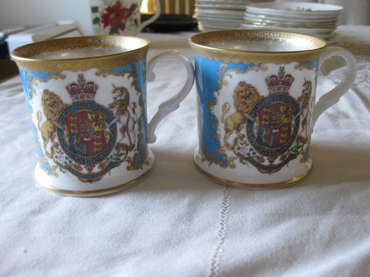 """Royal Collection """"Buckingham Place"""" given to Mum by Terry and Phyllis after their Europe Trip."""