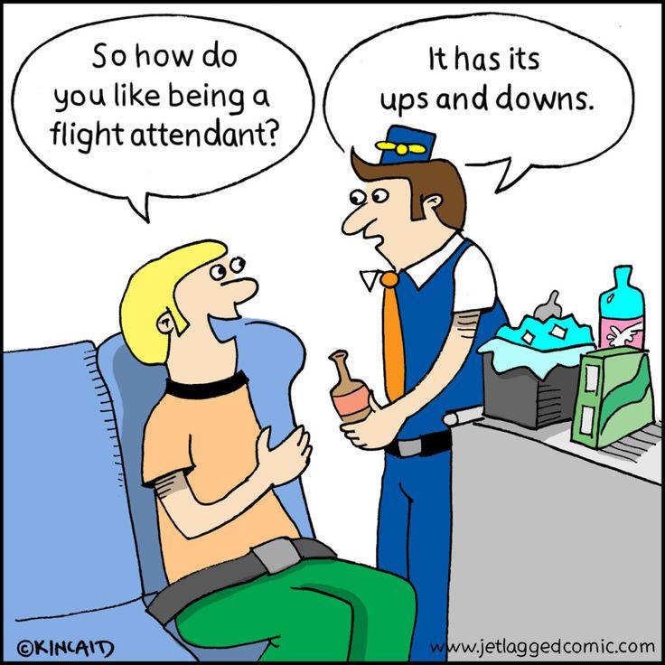 humor gay flight attendant Groceries
