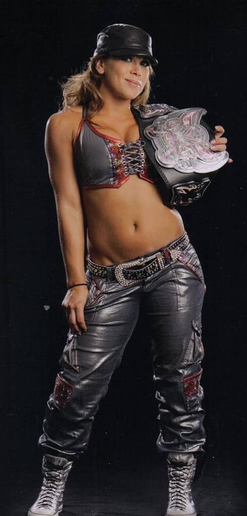 Former WWE Diva and Current TNA Knockout Mickie James