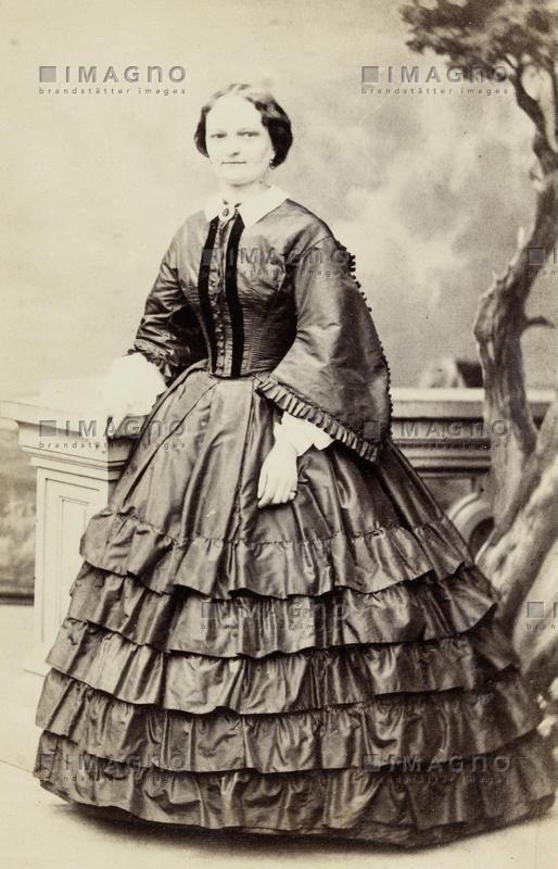 Portrait der Schneiderin von Kaiserin Elisabeth von Österreich, © IMAGNO/Austrian Archives