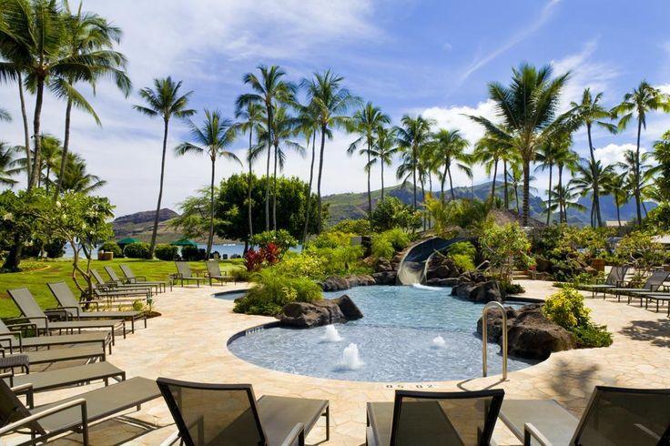 Kauai Marriott Resort, Beachfront, w/car, Book Now! http://www.tropicaltravel.net/vacation_packages/d//kauai/vacation/7888/ #kauai #TropicalTravel #hawaiidestination