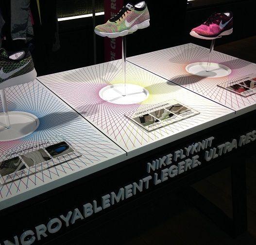 Tous Actualités Agencement Coffrets & Présentoirs Kakemono Marketing olfactif Merchandising PLV de Comptoir PLV de Sol PLV-Merchandising Vitrine (plus) En avant Grant's PLV-Merchandising Energique Herbalist PLV de Comptoir En confiance Pago PLV de Sol Et la lumière fut Nike Agencement En urgence Nike Agencement En équilibre Nike Agencement En douceur Nivea Coffrets & Présentoirs En …