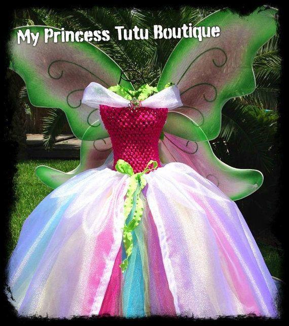Fata tutù abito Tutu Tutu vestito di MyPrincessTutuBoutiq su Etsy