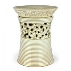 Cream Vase Tart Warmer