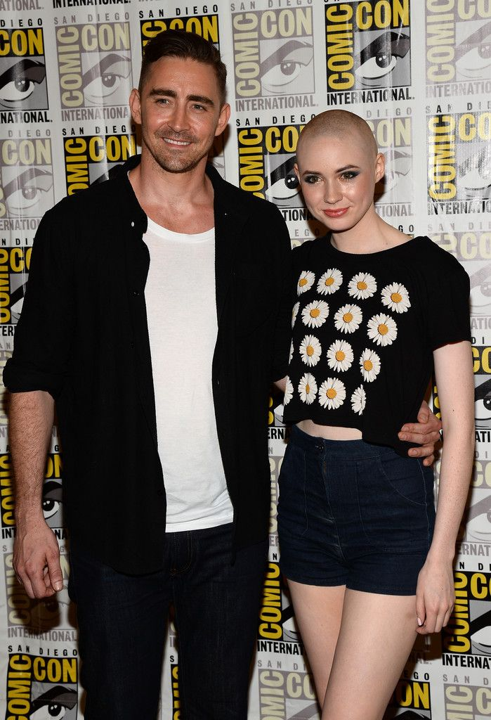 Stars Of Marvel Studios Take Over Comic-Con - Lee Pace (Ronan the Accuser) and Karen Gillan (Nebula) for GUARDIANS OF THE GALAXY
