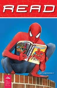 spiderman reading a book - Bing Images